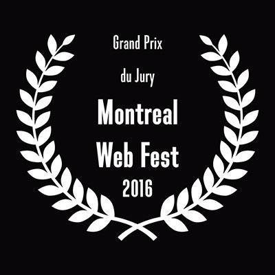Grand Prix du jury — Montreal Web Fest 2016